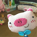 [DIY]cute pencil topper-pig