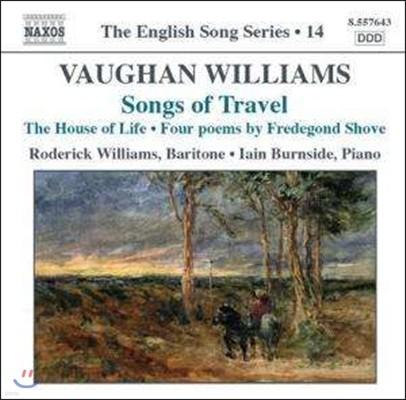 Roderick Williams 본 윌리엄스: 여행의 노래, 프레디곤드 쇼브에 의한 네 개의 시 (Vaughan Williams: Songs of Travel, Four Poems by Fredegond Shove)