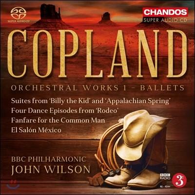 John Wilson 코플랜드: 관현악 작품 1집 - 발레 음악 (Aaron Copland: Orchestral Works Vol. 1 - Ballets)