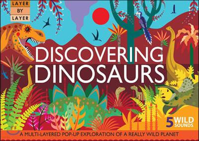 [스크래치 특가]Layer by Layer : Discovering Dinosaurs 5 Wild Sounds