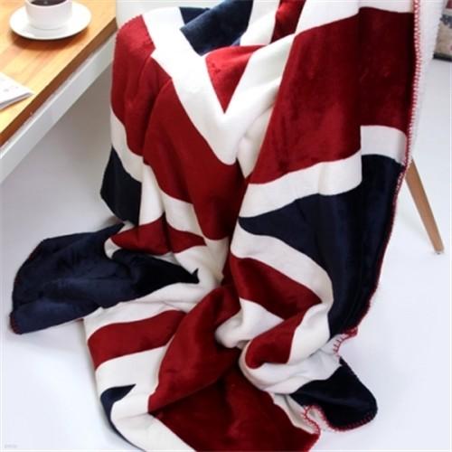 영국 유니온잭 플란넬 담요 150x200cm