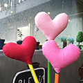 [DIY]heart pencil topper-pink type