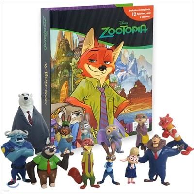 Disney Zootopia My Busy Book 디즈니 주토피아 비지북