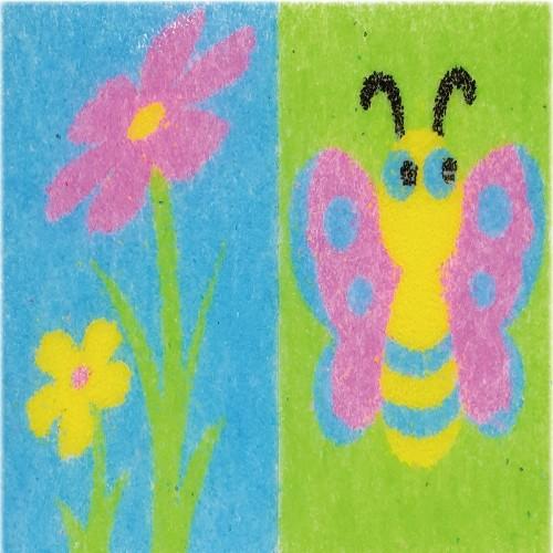 [데코샌드] 꼬메빔보 연필꽂이만들기 210 들꽃,나비