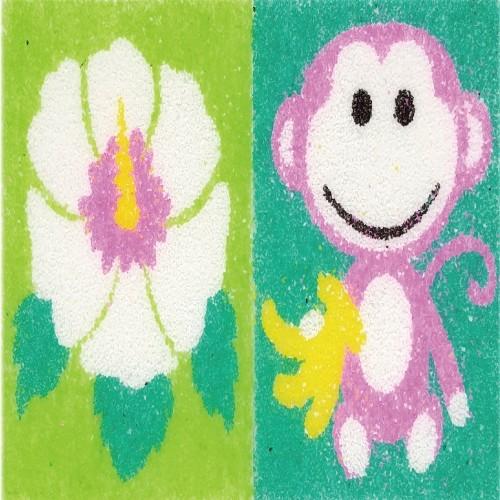 [데코샌드] 꼬메빔보 연필꽂이만들기 206 무궁화,원숭이