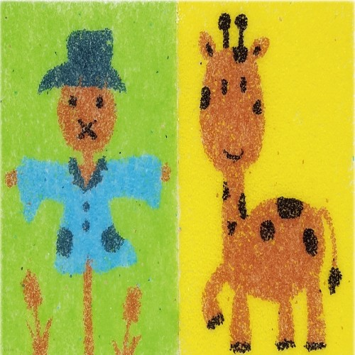 [데코샌드] 꼬메빔보 연필꽂이만들기 202 허수아비,기린
