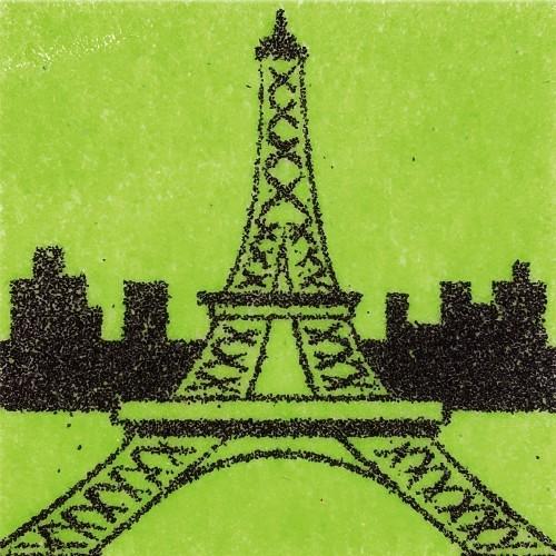 [데코샌드] 꼬메빔보 액자만들기 135 에펠탑