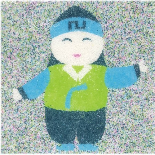 [데코샌드] 꼬메빔보 액자만들기 132 한복소년