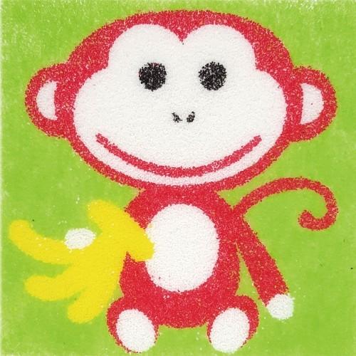 [데코샌드] 꼬메빔보 액자만들기 113 원숭이