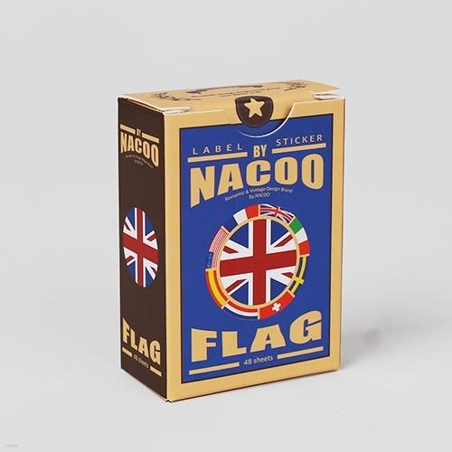 Label Sticker Pack-20 Flag