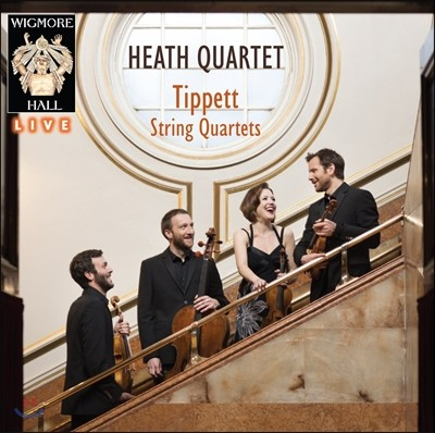 Heath Quartet 티펫: 현악 사중주 전곡집 (Michael Tippett: String Quartets Nos. 1 - 5)
