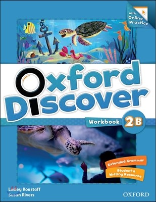 Oxford Discover Split 2B : Workbook with On-line Practice