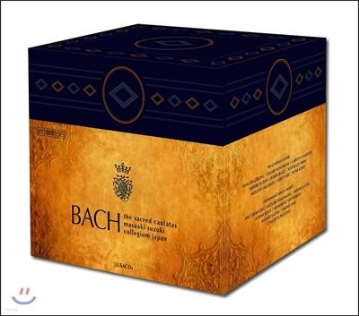 Masaaki Suzuki 바흐: 종교 칸타타 전집 - 마사아키 스즈키, 바흐 콜레지움 재팬 (J.S.Bach: The Complete Sacred Cantatas BWV1-200)