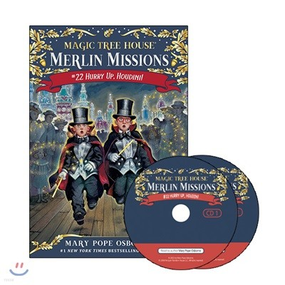 Merlin Mission #22 : Hurry Up, Houdini! (Book + CD)