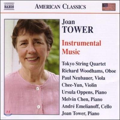 김지연 / Tokyo String Quartet 조앤 타워: 기악 작품집 (Joan Tower: Instrumental Music - In Memory, Big Sky, Wind Purple)