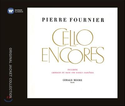 Pierre Fournier 피에르 푸르니에 - 첼로 소품집 [첼로 앙코르] (Cello Encores)