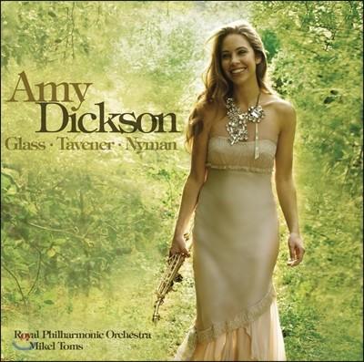 Amy Dickson 에이미 딕슨 색소폰 연주집 - 필립 글래스. 존 태버너, 마이클 나이먼 (Glass, Tavener & Nyman)