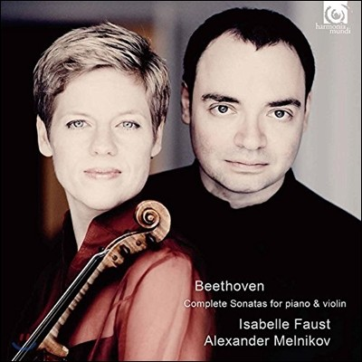 Isabelle Faust 베토벤: 바이올린 소나타 전곡 - 이자벨 파우스트, 알렉산더 멜니코프 (Beethoven: Complete Sonatas for Piano & Violin)