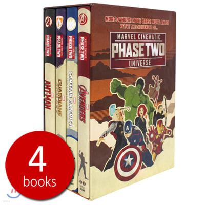 마블 시네마틱 유니버스 페이즈투 챕터북 4종 박스세트 Marvel Cinematic Universe Phase Two Box Set