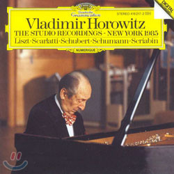 Vladimir Horowitz 블라디미르 호로비츠 스튜디오 레코딩 (The Studio Recordings - New York 1985)