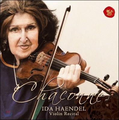 Ida Haendel 이다 헨델 바이올린 리사이틀 샤콘느 (Chaconne - Violin Recital)