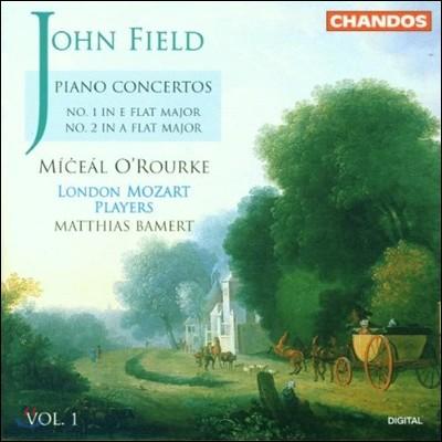 Miceal O'Rourke / Matthias Bamert 존 필드: 피아노 협주곡 1집 - 1번, 2번 (John Field: Piano Concertos Vol.1) 미샬 오루르크, 런던 모차르트 플레이어즈