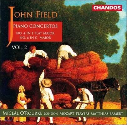 Miceal O'Rourke / Matthias Bamert 존 필드: 피아노 협주곡 2집 - 4번, 6번 (John Field: Piano Concertos Vol.2) 미샬 오루르크, 런던 모차르트 플레이어즈