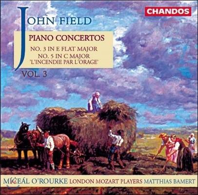 Miceal O'Rourke / Matthias Bamert 존 필드: 피아노 협주곡 3집 - 3번, 5번 (John Field: Piano Concertos Vol.3) 미샬 오루르크, 런던 모차르트 플레이어즈