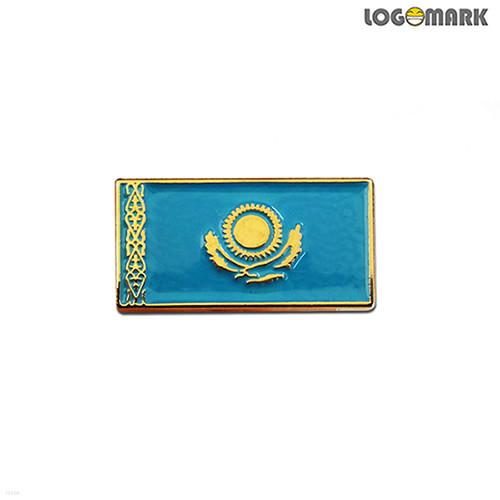 카자흐스탄 국기뺏지