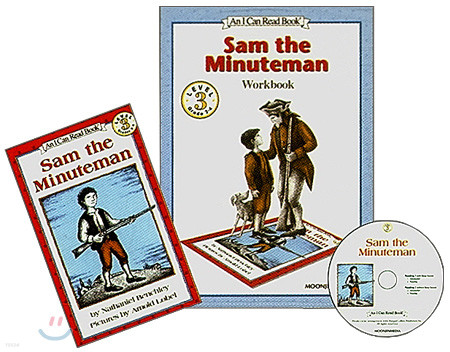 [I Can Read] Level 3-08 : Sam the Minuteman (Workbook Set)