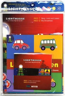 Lighthouse Red 1,2 : Stop, Look and Listen / My Breakfast (Book+CD)
