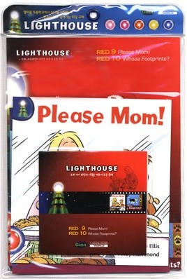 Lighthouse Red 9,10 : Please Mom! / Whose Footprints? (Book+CD)