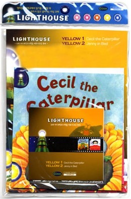 Lighthouse Yellow 1,2 : Cecil the Caterpillar / Jenny In Bed (Book+CD)