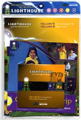 Lighthouse Yellow 5,6 : Our Camping Trip / Bear Hunt (Book+CD)