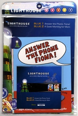 Lighthouse Blue 1,2 : Answer The Phone, Fiona! / A Quiet Morning for Mom (Book+CD)