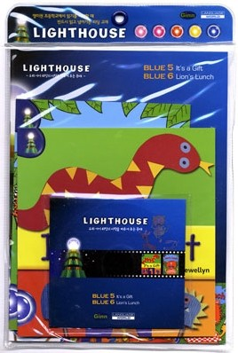 Lighthouse Blue 5,6 : It's a Gift / Lion's Lunch (Book+CD)