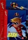 Disney's First Readers Level 3 : The Incredible Dash - THE INCREDIBLES (Storybook+Workbook Set)