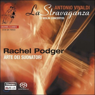 Rachel Podger 비발디 : 라 스트라바간자 12 바이올린 협주곡집 (Vivaldi : La Stravaganza) 레이첼 포저