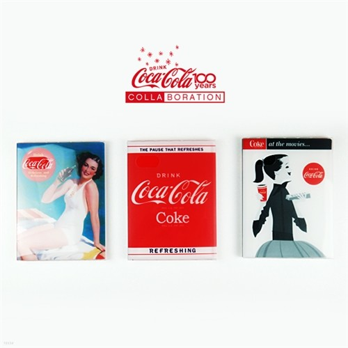[COCACOLA]코카콜라 PP 포켓앨범