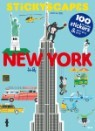 스티커 도시 풍경 - 뉴욕