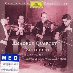 1951ㆍAmadeus Quartet - Schubert : String Quartets D887 & 804