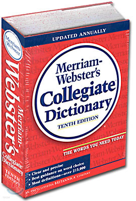 Merriam-Webster's Collegiate Dictionary 10th Edition