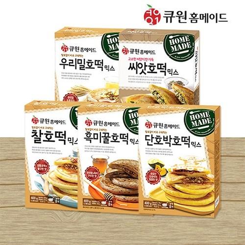 [무료배송] 큐원 호떡 5종세트/