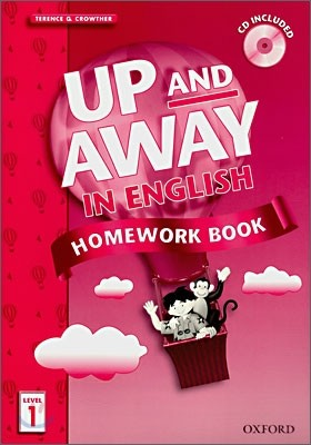 Up and Away in English 1 : Homework Book with CD