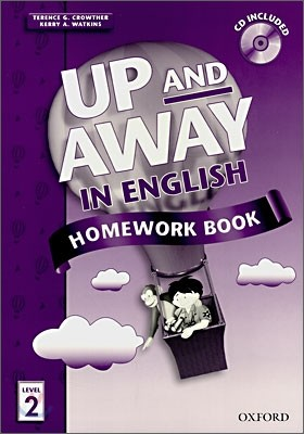 Up and Away in English 2 : Homework Book with CD