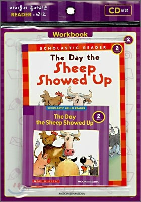 Scholastic Hello Reader Level 2-06 : The Day the Sheep Showed Up (Book+CD+Workbook Set)