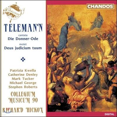 Collegium Musicum 90 텔레만: 천둥 찬가 칸타타, 모테트 '데우스 주디시움 투움' (Telemann: Cantata Die Donner-Ode, Motet Deus Judicium Tuum)
