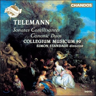 Collegium Musicum 90 텔레만: 소나타 코렐리상트, 캐논풍의 이중주 (Telemann: Sonates Corellisantes 1-6, Canonic Duos)