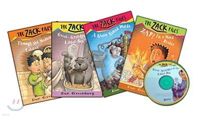 The Zack Files #1~4 Set : Book 4 + CD 4