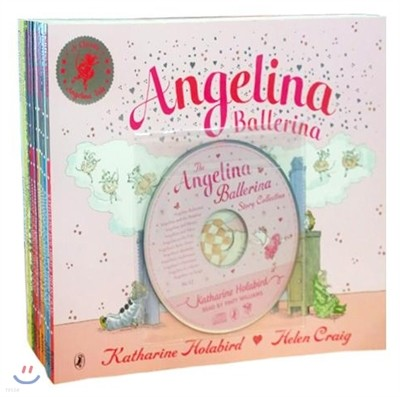 Angelina Ballerina 11 Book Pack (Book&CD)
